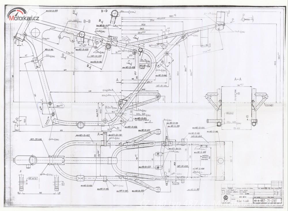 Vyvoj A Vznik Cz 180 Typ 487 6 Zapomenute Projekty Ctyrtaktni Cz