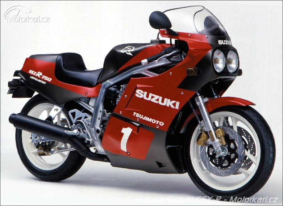 Historie řady Suzuki GSX-R: prvních 15 let | Motorkáři cz