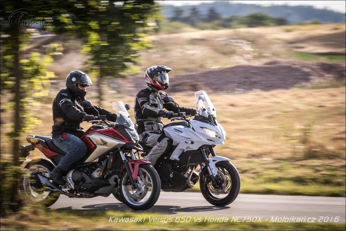 Kawasaki Versys 650 Vs Honda Nc750x Srdcem či Rozumem Motorkářicz