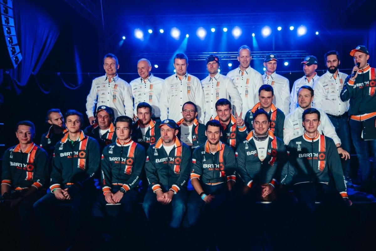BARTH Racing představil sestavu pro Rally Dakar 2018  f372992f4f
