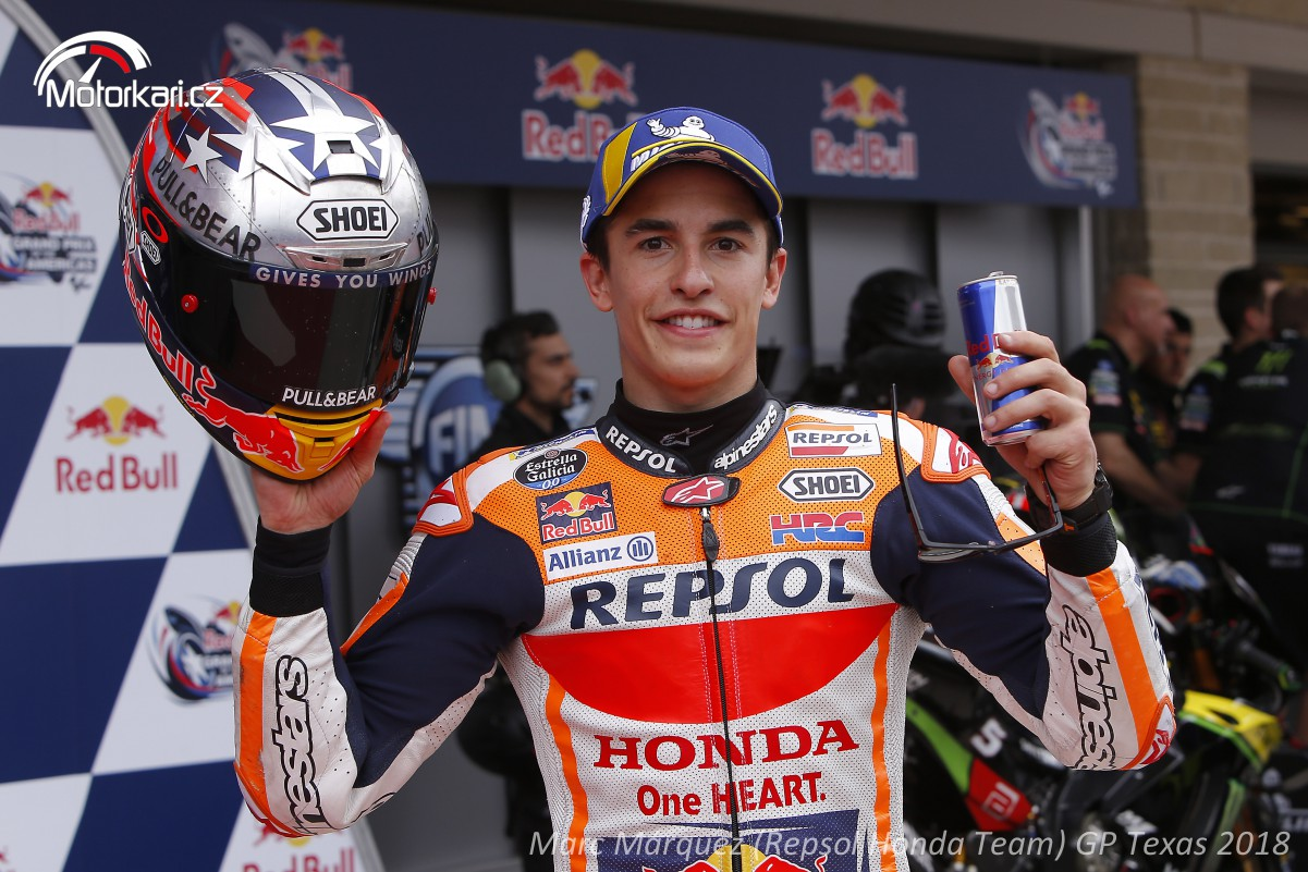 GP Texasu – Texas patří Márquezovi, vyhrál pošesté   Motorkáři.cz
