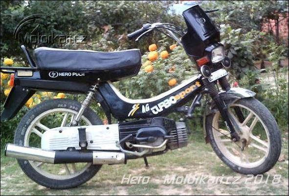 hero winner motor
